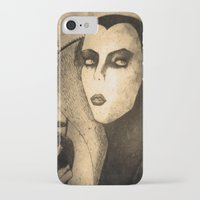 evil queen iPhone & iPod Cases featuring evil queen -snow white by Mathieu DeVille