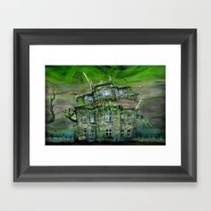 The Ghosthouse Framed Art Print