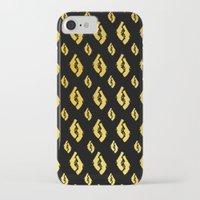 guns iPhone & iPod Cases featuring Golden Guns by deff