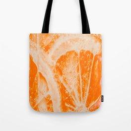 orange fruite slice Tote Bag