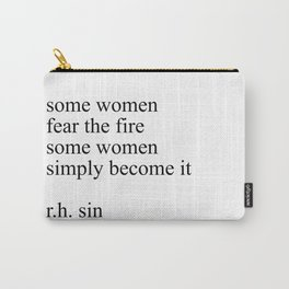 R.H. sin quote Carry-All Pouch