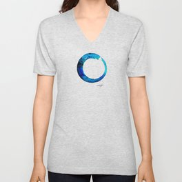 Enso Of Zen No. 20 by Kathy Morton Stanion Unisex V-Neck