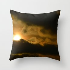 Beauty in the Storm Throw Pillow