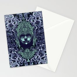 Boy with Labirinth Horns Stationery Cards