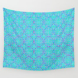 Raspberry Resonance Wall Tapestry