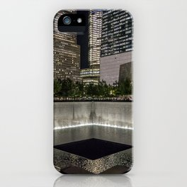 Footprint Fountain - NYC iPhone Case