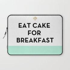 Eat Cake for Breakfast - Kate Spade Inspired Laptop Sleeve