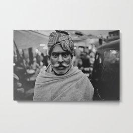 india 03 Metal Print