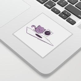Fat Cat Twister Sticker
