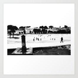 Rome_Circo Massimo Art Print