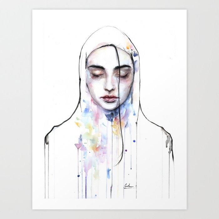 Habibi (nudity) Art Print