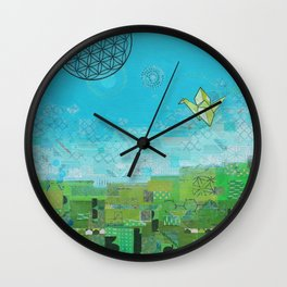Timelines Wall Clock