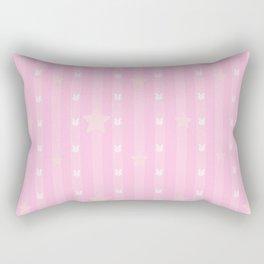 Kawaii Pink Rectangular Pillow