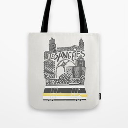 Los Angeles Cityscape Tote Bag