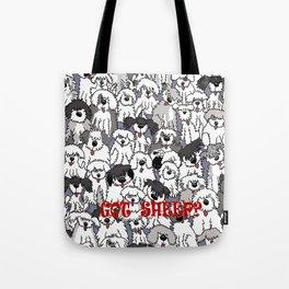 Original Sheepdogs On Watch Tote Bag