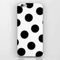 polka dot iPhone & iPod Skins featuring Polka Dot by JiaMiin Berglund