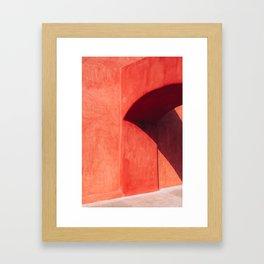Afternoon Shadow Framed Art Print