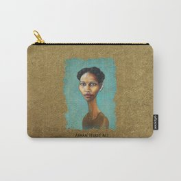 Portrait of Ayaan Hirsi Ali Carry-All Pouch
