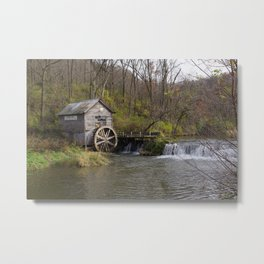Rural Wisconsin - Hyde's Mill Metal Print