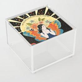 Feeling lighter and lighter Acrylic Box