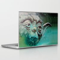 yoda Laptop & iPad Skins featuring YODA by ARTito