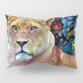 Mama Lion Pillow Sham
