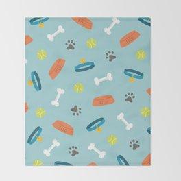 Dog Necessities Throw Blanket