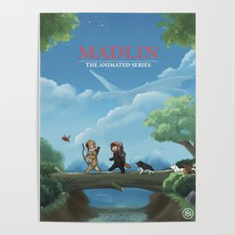 Madlin: The Animated Series Poster