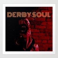 Derby Soul - Spaceman Art Print