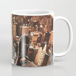 flying over manhattan Coffee Mug