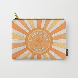 Universal Love and Sunshine Carry-All Pouch
