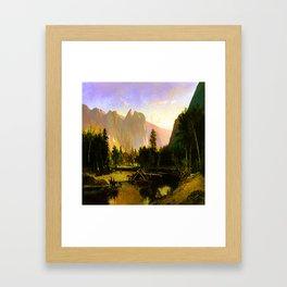William Keith Yosemite Valley Framed Art Print