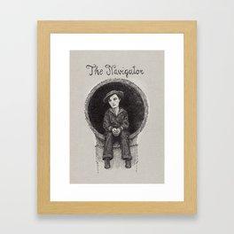 The Navigator Buster Keaton Framed Art Print
