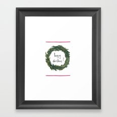 Happy Christmas! #3 Framed Art Print