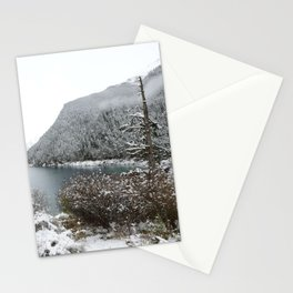 Winter wilderness Stationery Cards