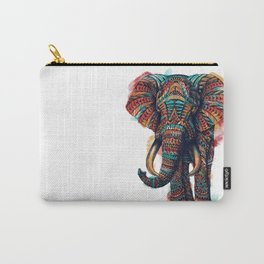 Ornate Elephant (Watercolor) Carry-All Pouch