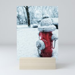 Fire Hydrant Mini Art Print