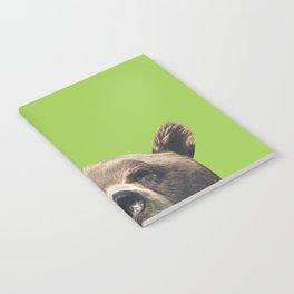 Bear - Green Notebook