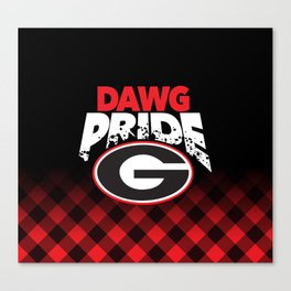 Georgia Dawg Pride Canvas Print
