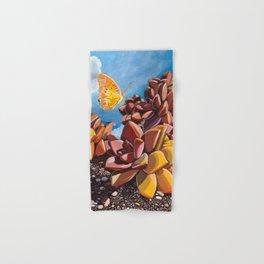 Butterfly + Graptosedum Hand & Bath Towel