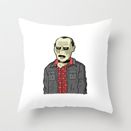 BUB (Day of the dead 1985) Throw Pillow