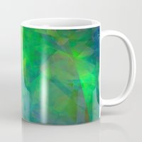 emerald Mugs featuring Emerald  by Christy Leigh