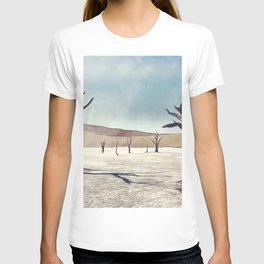 deadvlei desert trees acrfn T-shirt