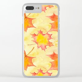 Autumn leaves #15 Clear iPhone Case