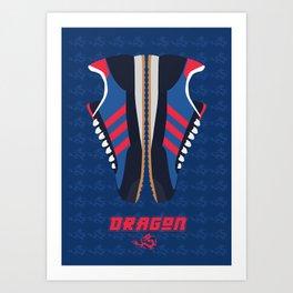 Original Dragon Art Print