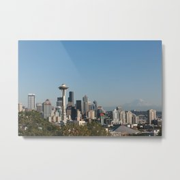 Space Needle from Kerry Park Metal Print