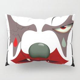 Evil clown Pillow Sham