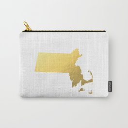 Usa Map Gold Foil Printable Art Wall Art Real Gold Foil 8x10 Canvas Usa State Map Minnesota Map Gold Carry-All Pouch
