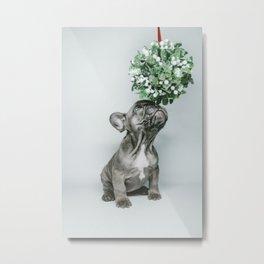 Pug Love Metal Print