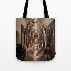 Circular Perspective Tote Bag